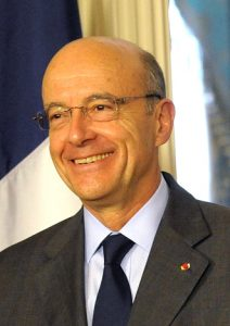 Alain Juppé à Washington en 2011