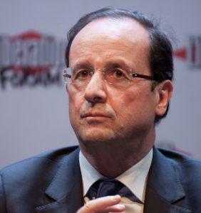 Francois Hollande -janvier 2012 par Matthieu Riegler